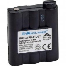 Аккумулятор Midland PB-ATL/G7