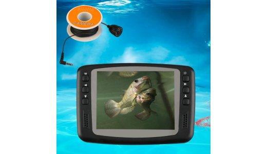 Что лучше: эхолот или подводная камера?